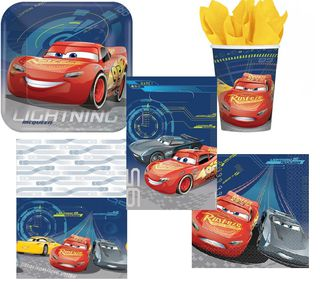 Disney Cars 3 Party Pack