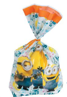 Minions Cello Loot Bags