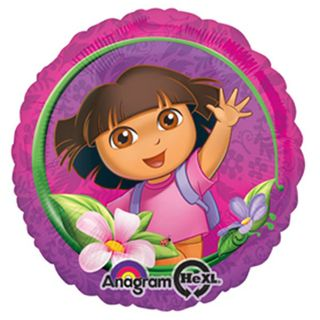 Dora the Explorer Birthday Foil Balloon