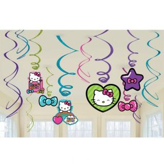 Hello Kitty Rainbow Swirls