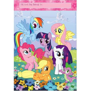 My Little Pony Loot Bags - 8 Pack