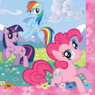 My Little Pony Lunch Napkins - 16 Pack