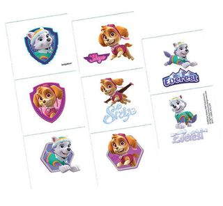 Paw Patrol Girls Tattoos - 8 Tattoos