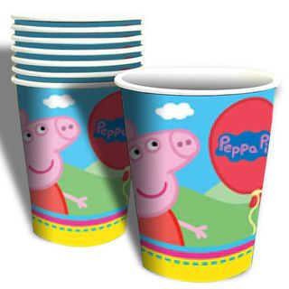 Peppa Pig Cups - 8 Pack