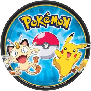 Pokemon Cake Plates