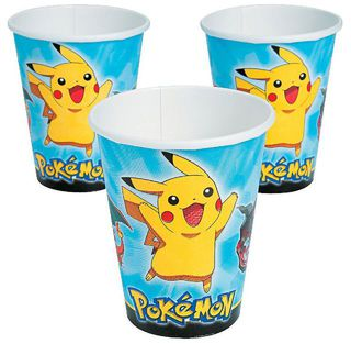 Pokemon Party Cups