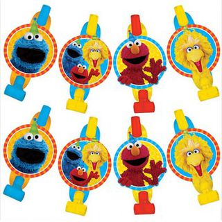 Sesame Street Blowouts - 8 Pack