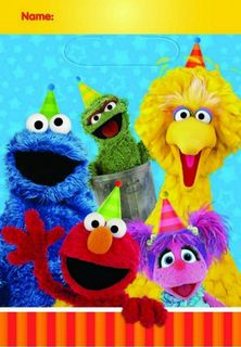 Sesame Street Loot Bags - Group