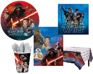 Star Wars Episode VII Party Pack