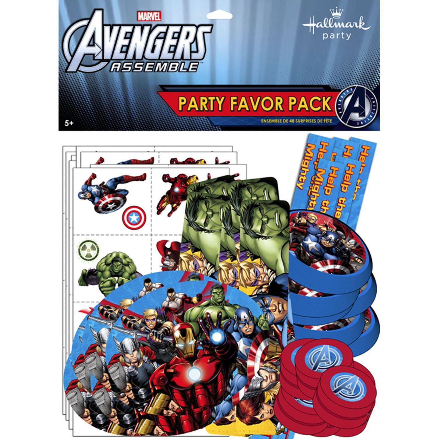 Avengers Value Favour Pack - 8 Guests