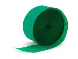 Streamers - Green