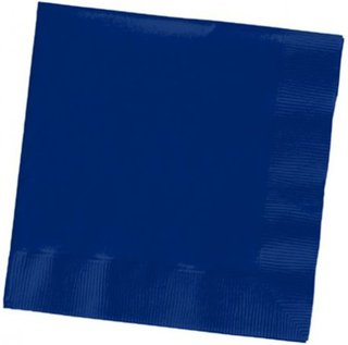 Beverage Napkins - Royal Blue - 20 Pack