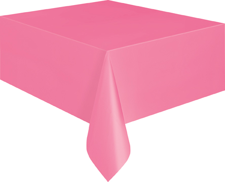Table Cover - Candy Pink