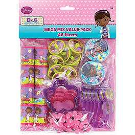 Doc McStuffins Value Favour Pack for 8