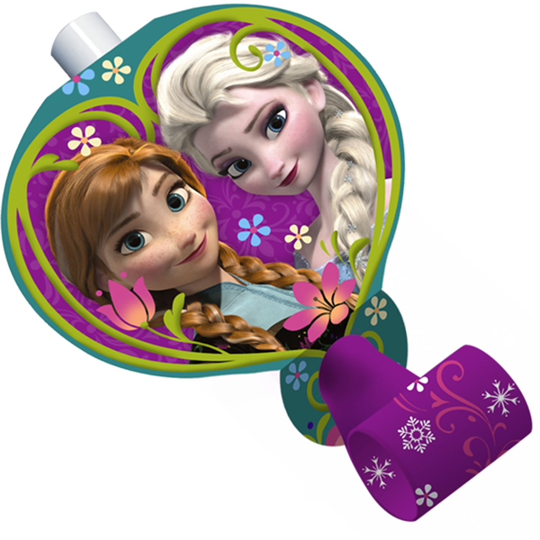 Disney Frozen Blowouts - 8 Pack
