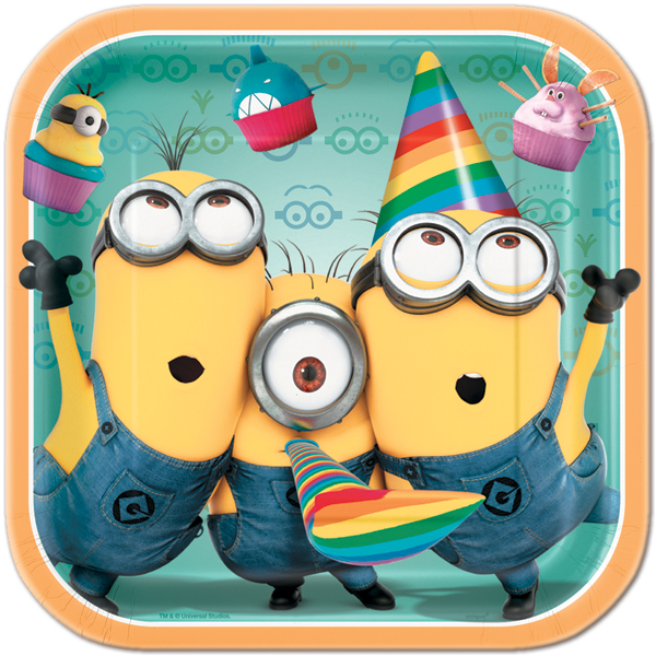 Despicable Me Dinner Plates