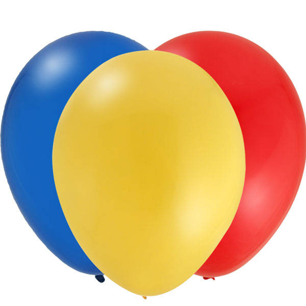 Thomas the Tank Coordinating Balloons - Set of 12