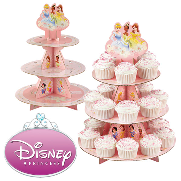 Disney Princess 3 Tier Cupcake Stand
