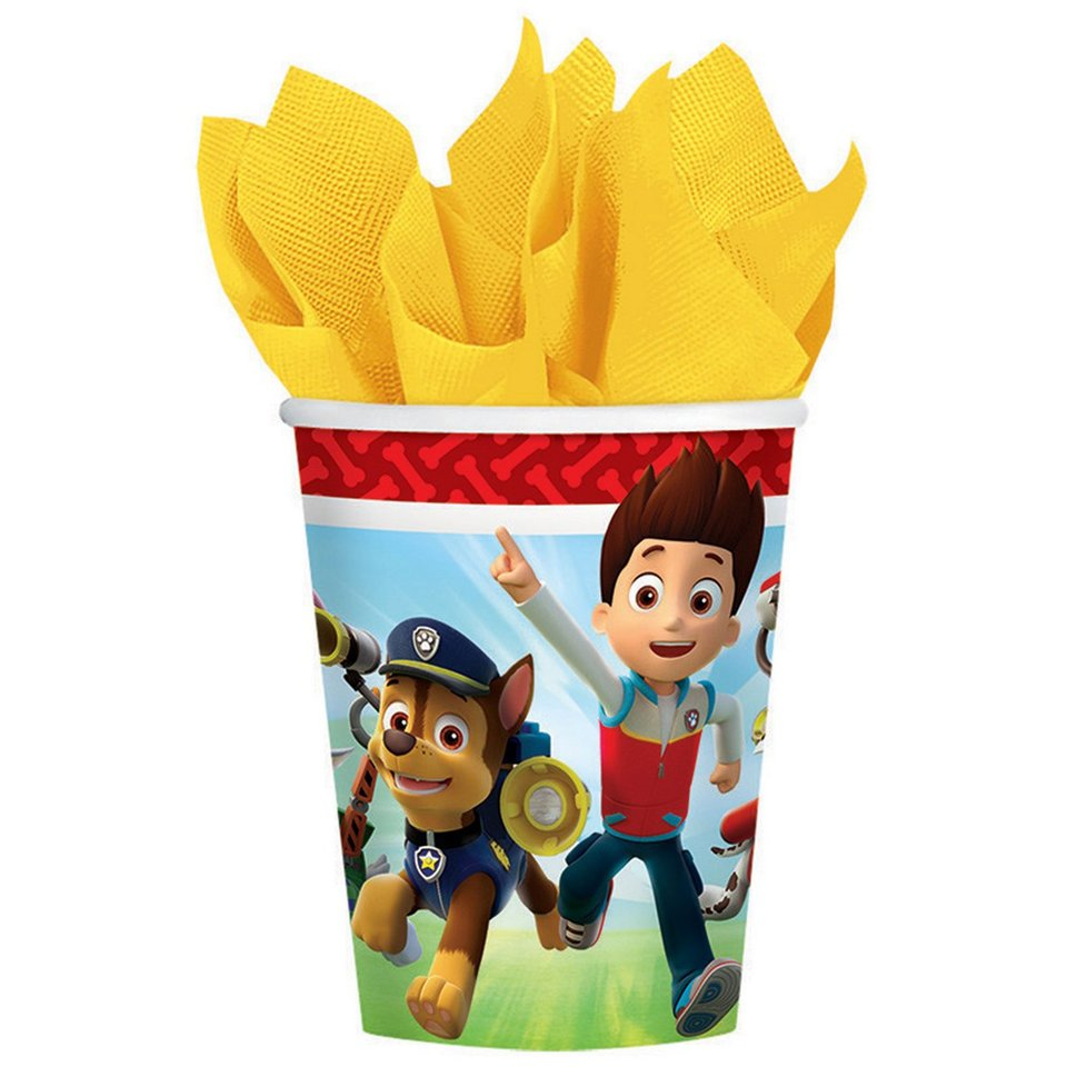 Paw Patrol Cups - 8 Pack
