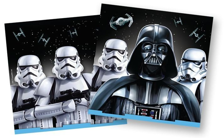 Star Wars Lunch Napkins  - 16 pack