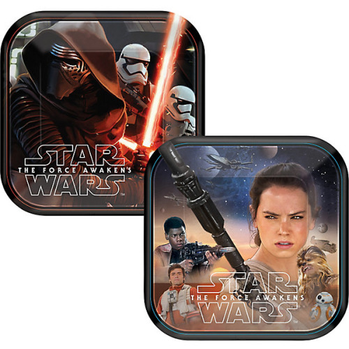 Star Wars Cake Plates - 8 Pack