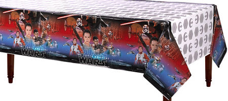 Star Wars EP Vll Plastic Tablecover (Each)