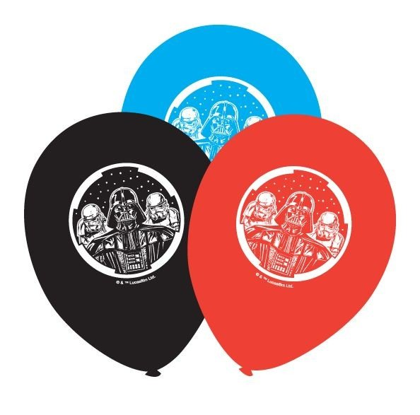 Star Wars Balloons - 6 Pack
