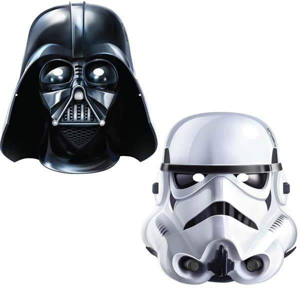 Star Wars Party Masks - 8 Pack