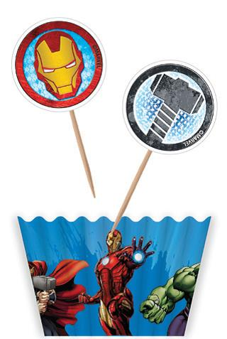 Avengers Cupcake Decorating Kit  -12 Pack