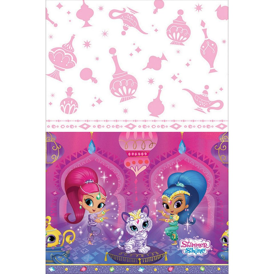 Shimmer and Shine Table Cover