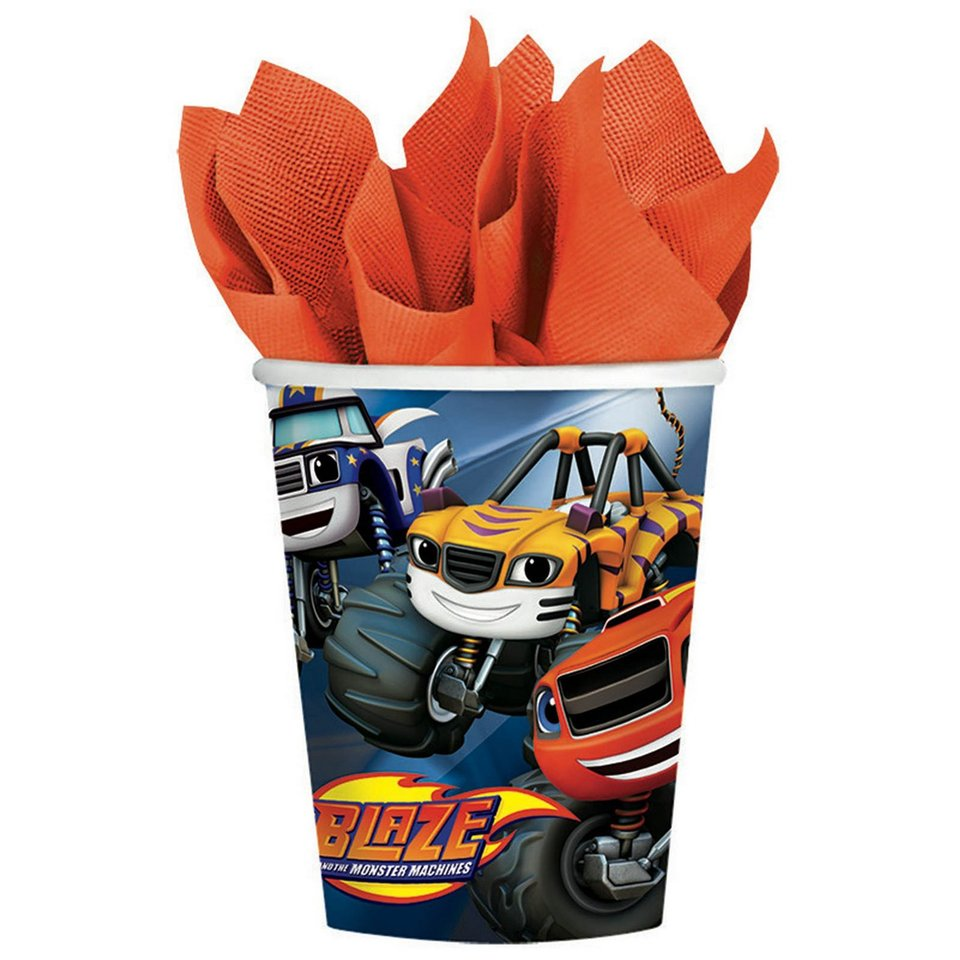 Blaze & the Monster Machines Cups - 8 Pack