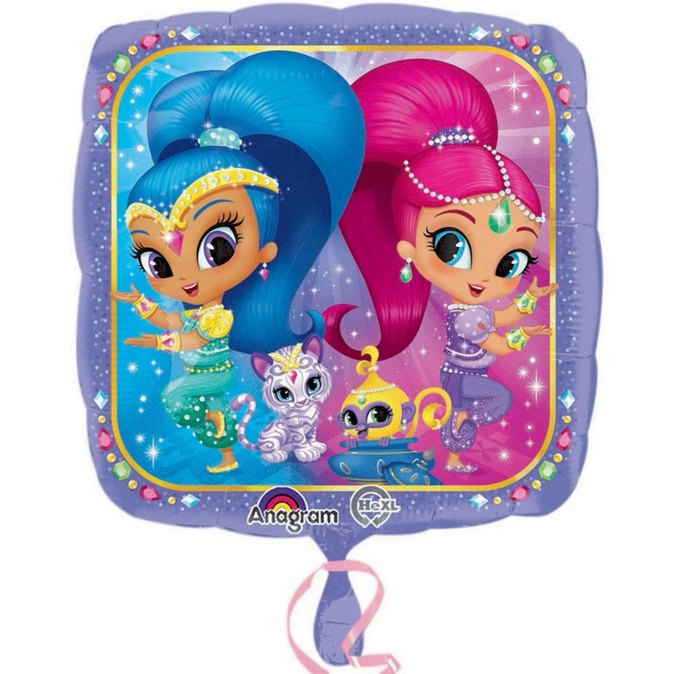 Shimmer and Shine Foil Balloon - Single