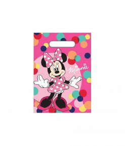 Minnie Mouse Loot Bag - 10 Pack