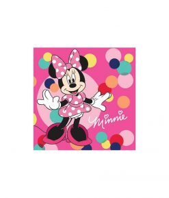 Minnie Mouse Lunch Napkins - 20 Pack