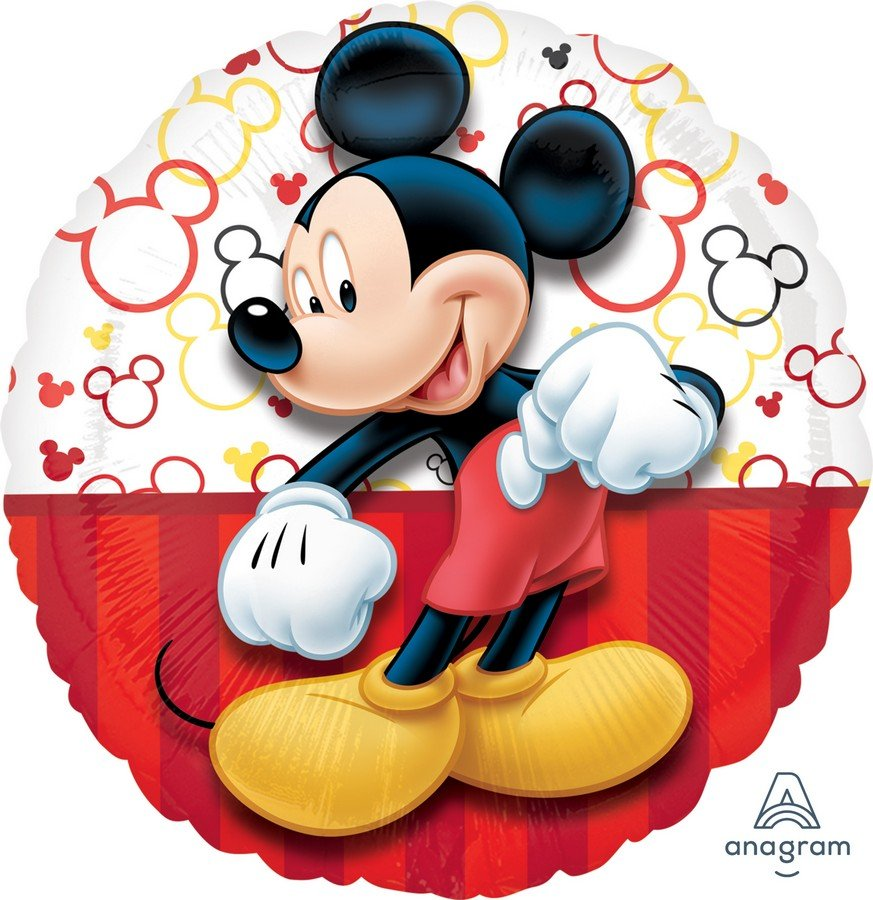 Mickey Mouse Foil Balloon - Single