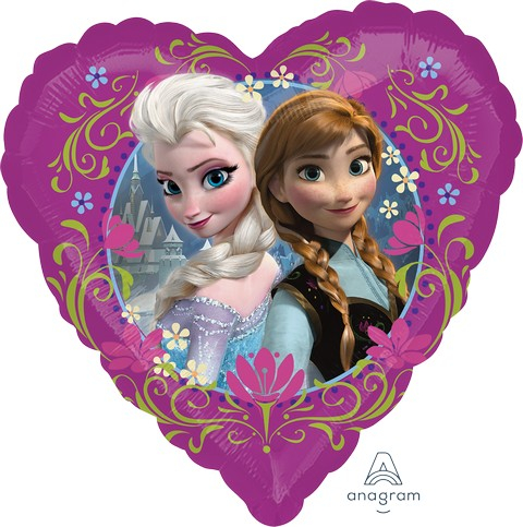 Disney Frozen - Love Foil Balloon - Single