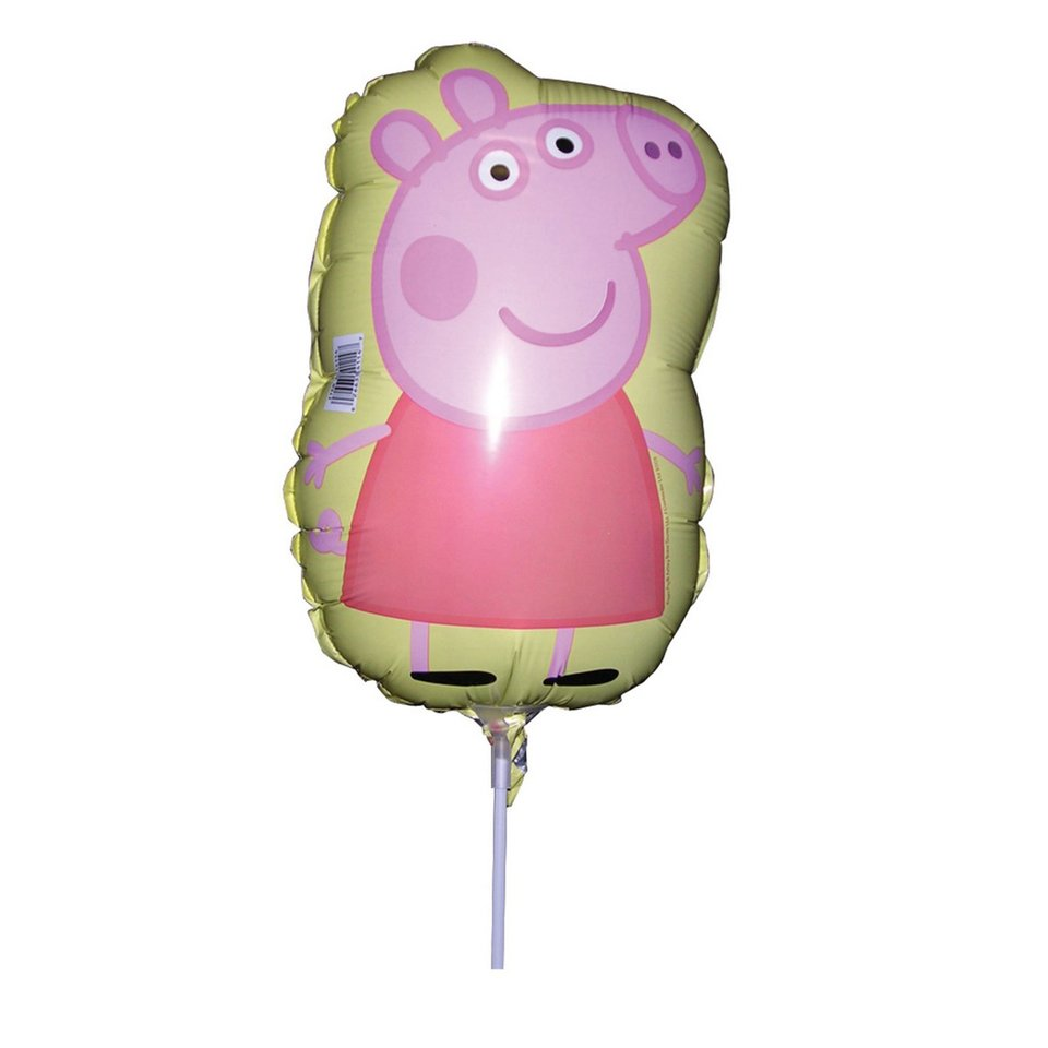 Peppa Pig Mini Foil Balloon - Single