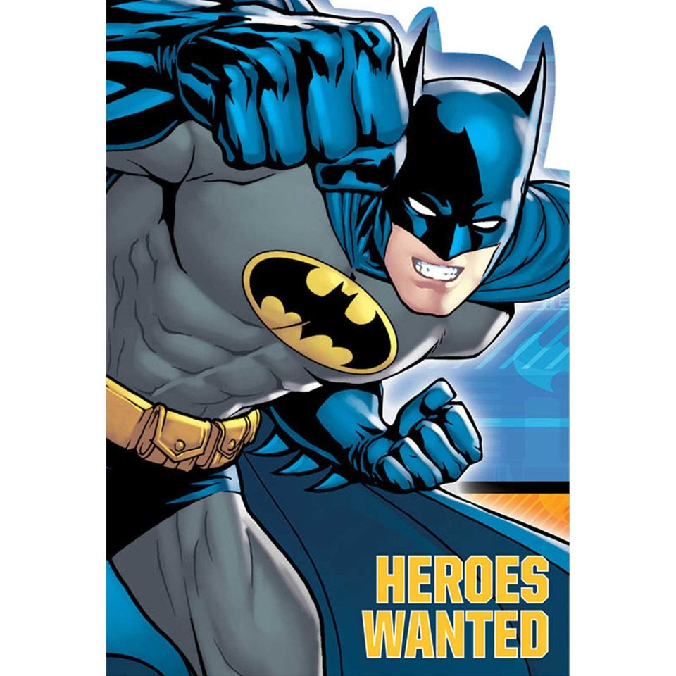 Batman Party Invitations - 8 Pack