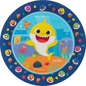 Baby Shark Lunch Plates - 8 Pack