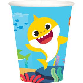 Baby Shark Party Cups - 8 Pack