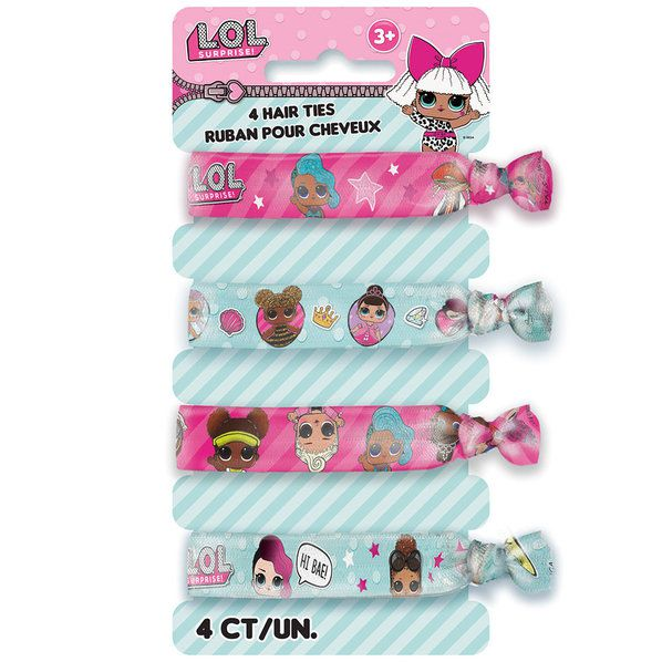 LOL Surprise Hair Tie - 4 Pack