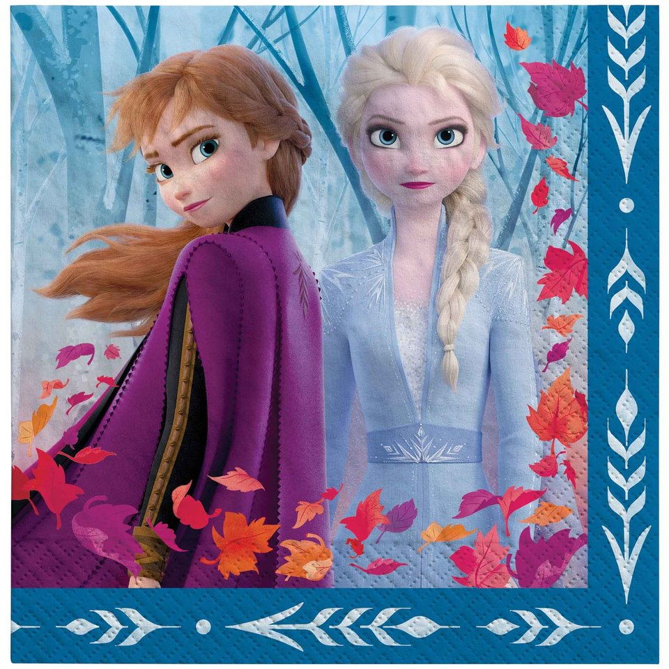 Disney Frozen 2 Lunch Napkin - 16 Pack