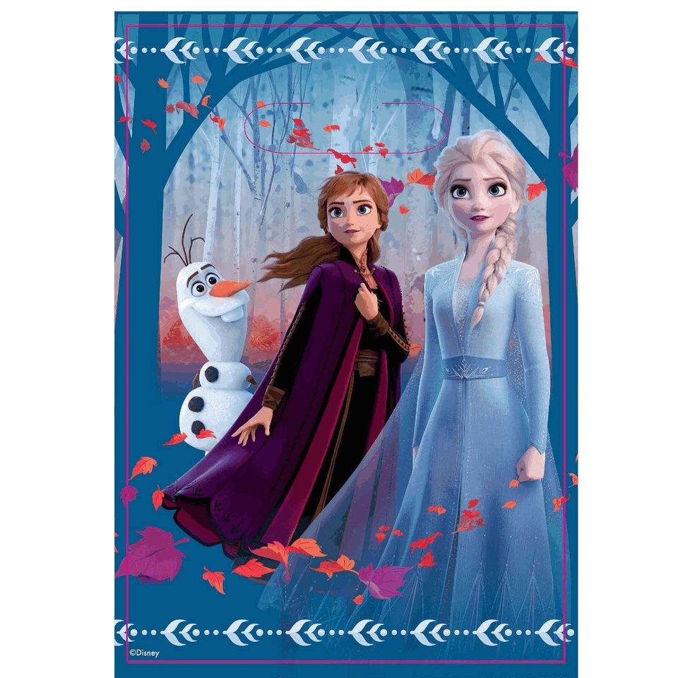Disney Frozen 2 Loot Bags - 8 Pack