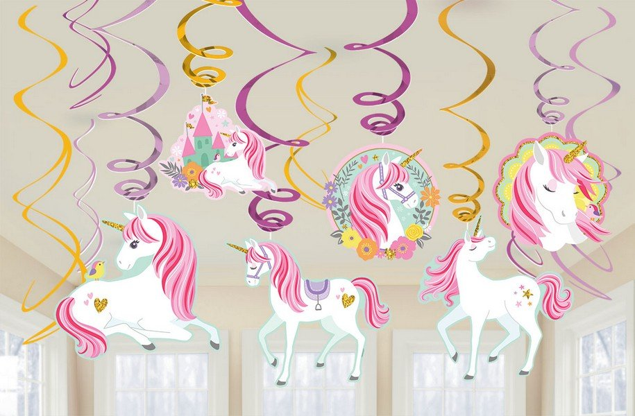 Magical Unicorn Hanging Decorations