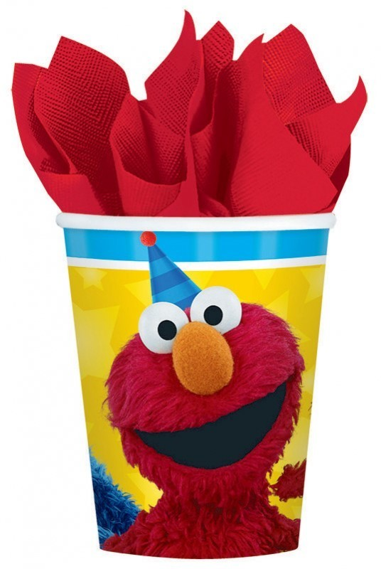 Sesame Street Party Cups - 8 Pack