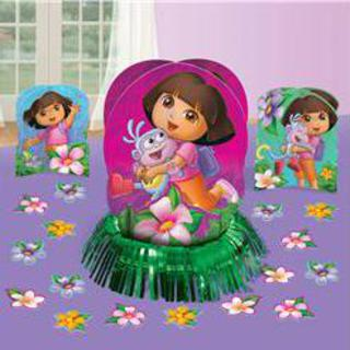 Dora the Explorer Table Decoration Kit