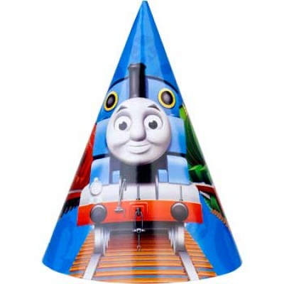 Thomas the Tank Engine Party Hats 8pk