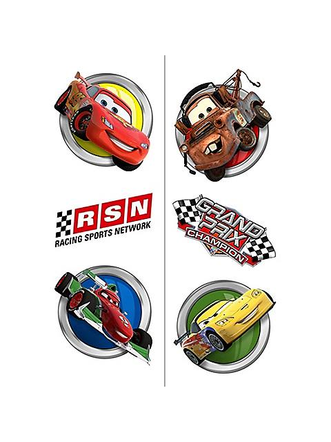 Disney Cars Temporary Tattoos - 8 Pieces