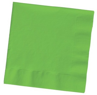 Lunch Napkin - Lime Green - 20 Pack
