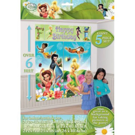 Tinkerbell Wall Scene | Lilybee\'s Party Supplies